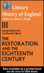 Ebook in inglese The Literary History of England