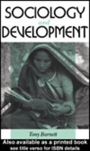 Foto Cover di Sociology and Development, Ebook inglese di Tony Barnett, edito da