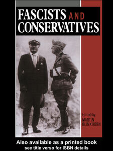 Ebook in inglese Fascists and Conservatives Blinkhorn, Martin