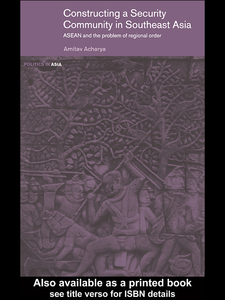 Ebook in inglese Constructing a Security Community in Southeast Asia Acharya, Amitav