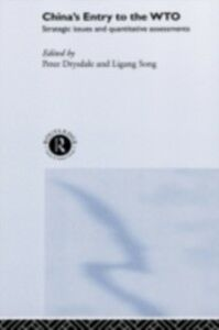 Ebook in inglese China's Entry into the World Trade Organisation