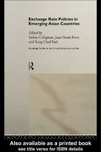 Foto Cover di Exchange Rate Policies in Emerging Asian Countries, Ebook inglese di  edito da Taylor and Francis