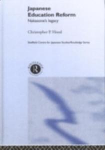 Ebook in inglese Japanese Education Reform Hood, Christopher P.