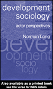 Ebook in inglese Development Sociology Long, Norman