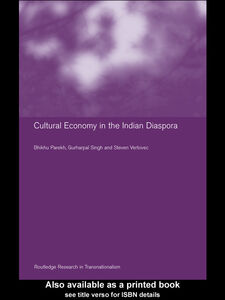 Ebook in inglese Culture and Economy in the Indian Diaspora