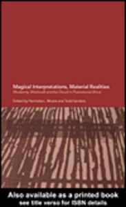 Ebook in inglese Magical Interpretations, Material Realities