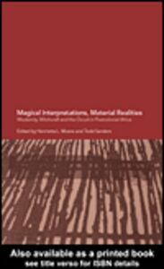 Foto Cover di Magical Interpretations, Material Realities, Ebook inglese di Henrietta L. Moore,Todd Sanders, edito da