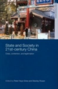 Ebook in inglese State and Society in 21st Century China -, -