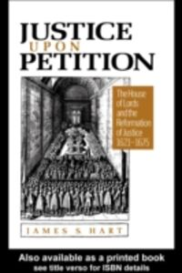 Foto Cover di Justice Upon Petition, Ebook inglese di James S. Hart, edito da Taylor and Francis