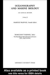 Oceanography and Marine Biology, Volume 20