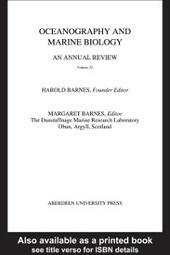 Oceanography and Marine Biology, An Annual Review, Volume 22