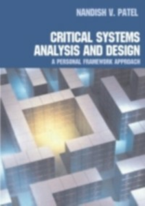 Ebook in inglese Critical Systems Analysis and Design Patel, Nandish