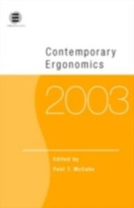 Ebook in inglese Contemporary Ergonomics 2003 McCabe, Paul T.