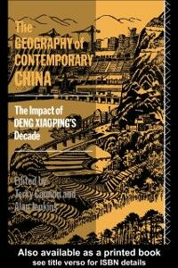 Ebook in inglese Geography of Contemporary China -, -