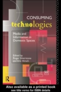Ebook in inglese Consuming Technologies