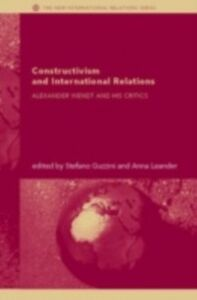 Ebook in inglese Constructivism and International Relations -, -