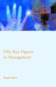 Ebook in inglese Fifty Key Figures in Management Witzel, Morgen