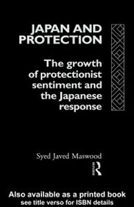 Ebook in inglese Japan and Protection Maswood, Syed Javed