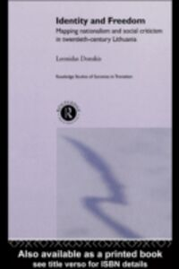 Ebook in inglese Identity and Freedom Donskis, Leondas
