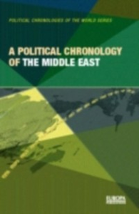 Ebook in inglese Political Chronology of the Middle East -, -