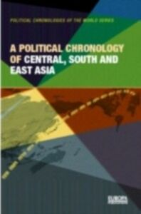 Foto Cover di Political Chronology of Central, South and East Asia, Ebook inglese di  edito da Taylor and Francis