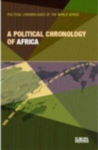 Foto Cover di Political Chronology of Africa, Ebook inglese di  edito da Taylor and Francis