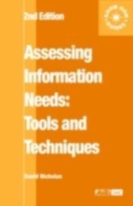 Ebook in inglese Assessing Information Needs Nicholas, David