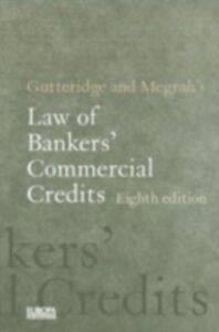Ebook in inglese Gutteridge and Megrah's Law of Bankers' Commercial Credits King, Richard