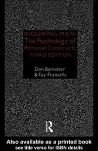 Ebook in inglese Inquiring Man Bannister, Donald , Fransella, Fay