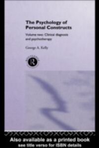 Ebook in inglese Psychology of Personal Constructs Kelly, George