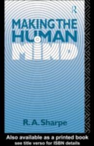 Foto Cover di Making the Human Mind, Ebook inglese di  edito da Taylor and Francis