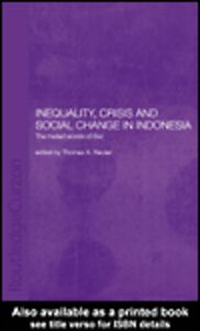 Ebook in inglese Inequality, Crisis and Social Change in Indonesia