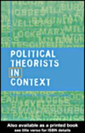 Political Theorists in Context