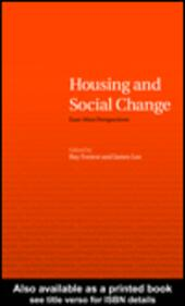 Housing and Social Change