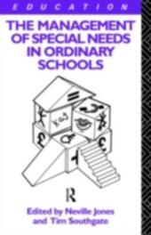 Management of Special Needs in Ordinary Schools