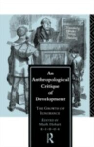 Ebook in inglese Anthropological Critique of Development
