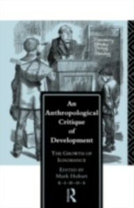Ebook in inglese Anthropological Critique of Development -, -