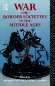 Ebook in inglese War and Border Societies in the Middle Ages -, -