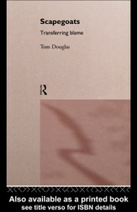 Ebook in inglese Scapegoats Douglas, Tom