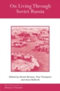 Ebook in inglese On Living Through Soviet Russia