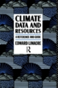 Ebook in inglese Climate Data and Resources Linacre, Edward