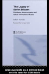 Ebook in inglese Legacy of Soviet Dissent Horvath, Robert
