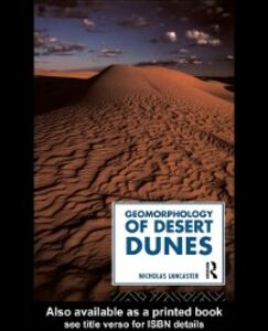 Ebook in inglese Geomorphology of Desert Dunes Lancaster, Nicholas