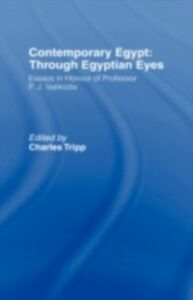 Ebook in inglese Contemporary Egypt: Through Egyptian Eyes