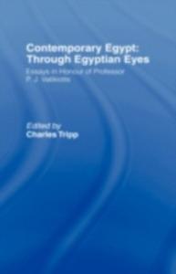 Ebook in inglese Contemporary Egypt: Through Egyptian Eyes -, -