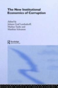 Ebook in inglese New Institutional Economics of Corruption Lambsdorff, Johann Graf , Schramm, Matthias , Taube, Markus