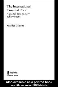 Ebook in inglese International Criminal Court Glasius, Marlies