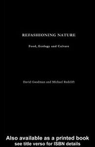 Ebook in inglese Refashioning Nature Goodman, David , Redclift, Michael