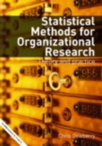 Ebook in inglese Statistical Methods for Organizational Research -, -