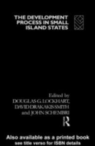 Foto Cover di Development Process in Small Island States, Ebook inglese di  edito da Taylor and Francis